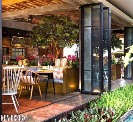 cac tieu chi khi thiet ke mu nha hang dien tich nho 4 435x400 - Các tiêu chí khi thiết kế mẫu nhà hàng đẹp diện tích nhỏ