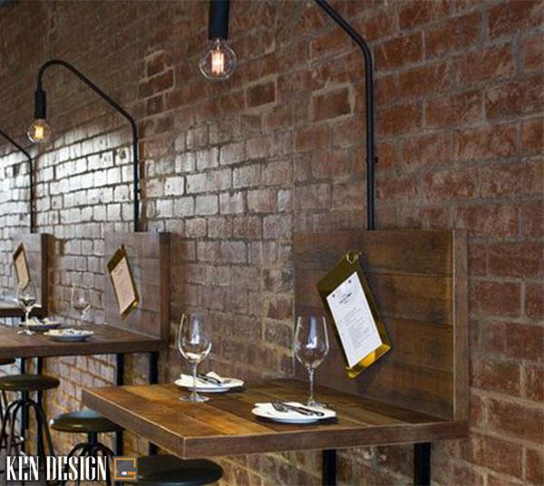 cac tieu chi khi thiet ke mu nha hang dien tich nho 5 - Các tiêu chí khi thiết kế mẫu nhà hàng đẹp diện tích nhỏ