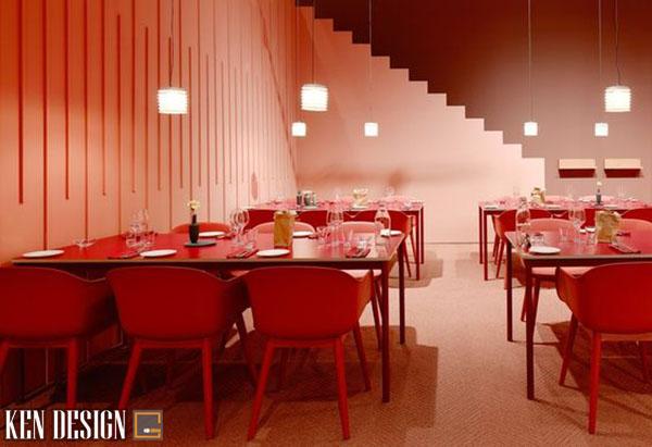 cach lua chon mau sac noi that 2 - Cách chọn màu sắc cho thiết kế nội thất nhà hàng