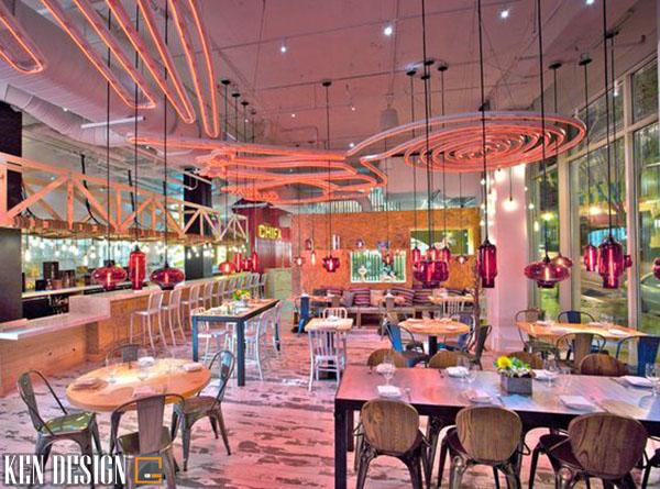 cach lua chon mau sac noi that 3 - Cách chọn màu sắc cho thiết kế nội thất nhà hàng