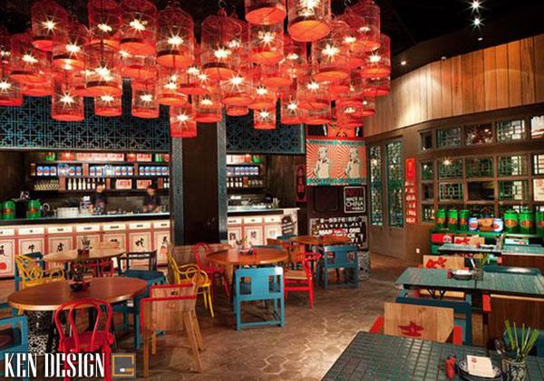 cach lua chon mau sac noi that 6 - Cách chọn màu sắc cho thiết kế nội thất nhà hàng