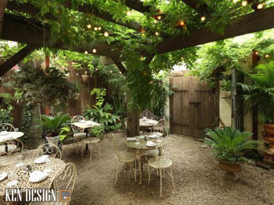 chi voi 4 bi kip cho mot thiet ke san vuon dep 3 533x400 - Chỉ với 4 bí kíp cho một thiết kế nhà hàng sân vườn đẹp
