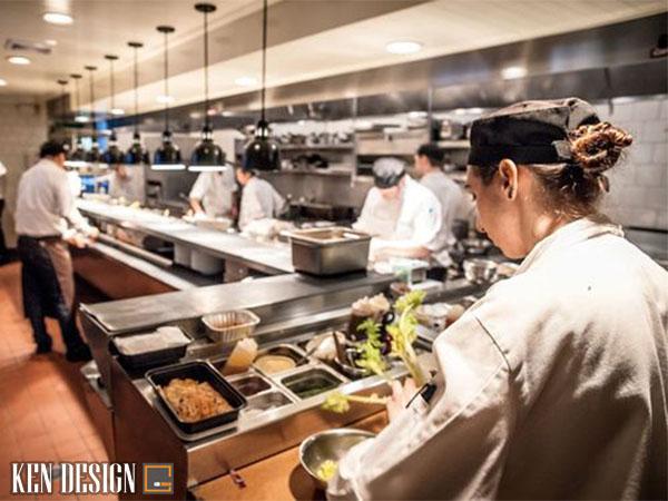 gia thi cong bep nha hang 4 - Giá thi công bếp nhà hàng ăn uống