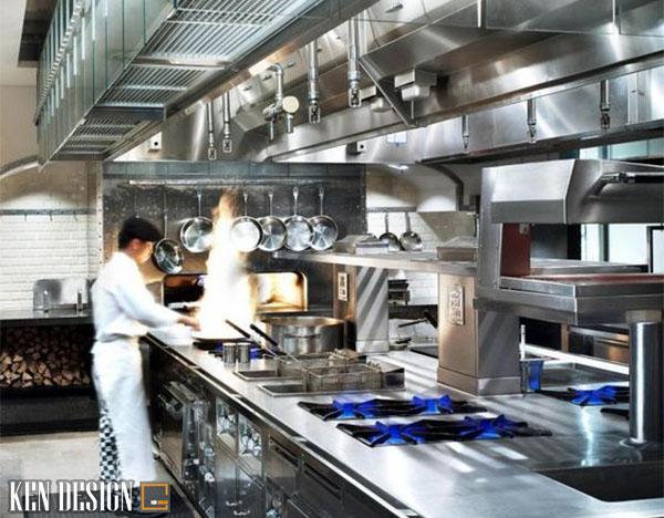 gia thi cong bep nha hang 5 - Giá thi công bếp nhà hàng ăn uống
