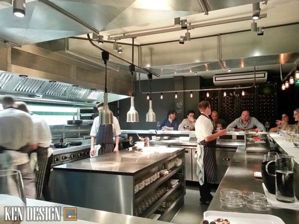 gia thi cong bep nha hang 6 - Giá thi công bếp nhà hàng ăn uống