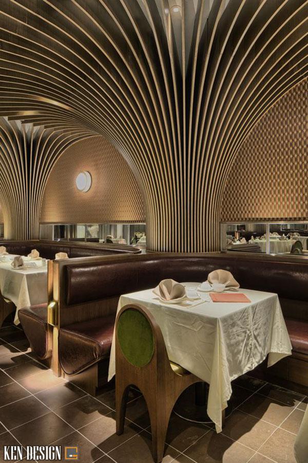 gia thiet ke noi that nha hang 3 - Giá thiết kế nội thất nhà hàng phụ thuộc vào yếu tố nào?