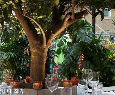 lam sao de co khong gian nha hang voi thiet ke hoa hop voi thien nhien 6 487x400 - Làm sao để có được không gian nhà hàng với thiết kế hòa hợp thiên nhiên