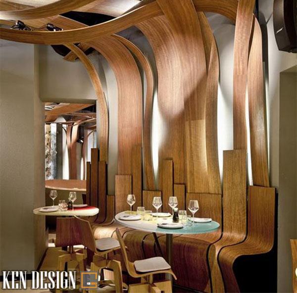 mau nha hang dep can dap ung dieu gi 2 - Mẫu nhà hàng đẹp cần đáp ứng điều gì?