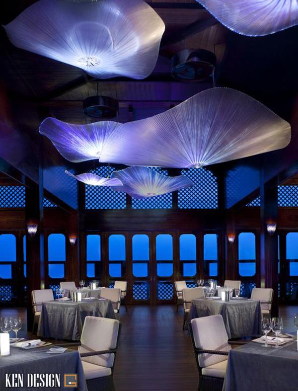phan chia khong gian trong thiet ke nha hang hai san 2 - Phân chia không gian trong thiết kế nhà hàng hải sản như thế nào là hợp lý?
