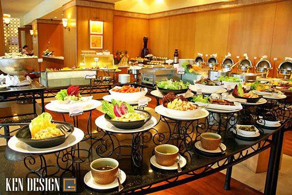 săp xep thiet bi nha hang buffet khoa hoc 3 600x400 - Sắp xếp thiết bị nhà hàng buffet như thế nào là hợp lý