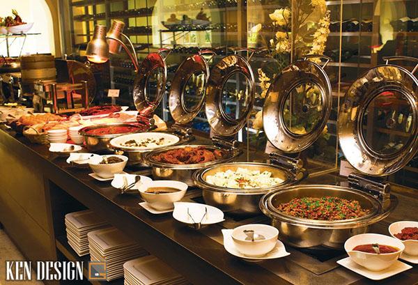 săp xep thiet bi nha hang buffet khoa hoc 4 - Sắp xếp thiết bị nhà hàng buffet như thế nào là hợp lý