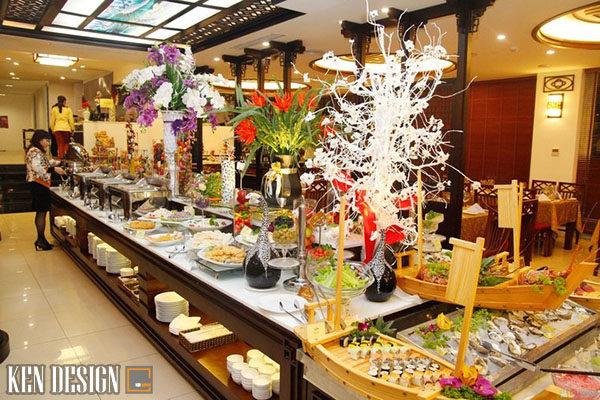 săp xep thiet bi nha hang buffet khoa hoc 6 600x400 - Sắp xếp thiết bị nhà hàng buffet như thế nào là hợp lý