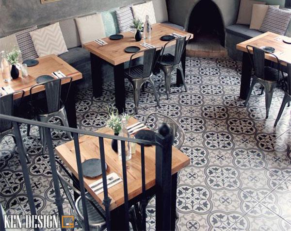 thi cong nha hang hien dai don gian 5 - Thi công nhà hàng hiện đại đơn giản
