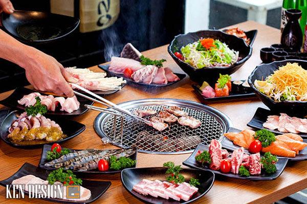 thi cong nha hang lau nuong san vuon 5 600x400 - Thi công nhà hàng lẩu nướng sân vườn thu hút
