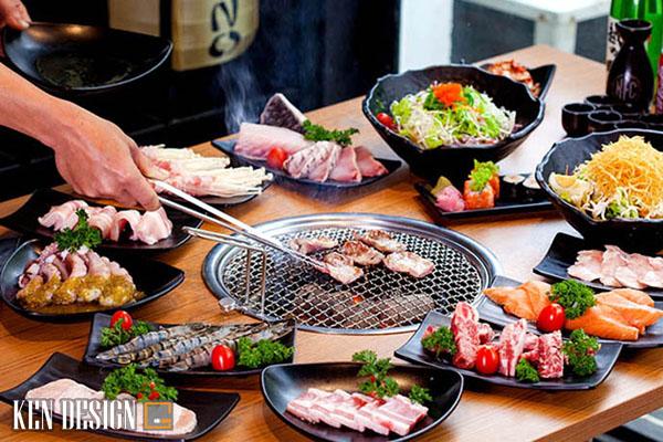 thi cong nha hang lau nuong san vuon 5 - Thi công nhà hàng lẩu nướng sân vườn thu hút