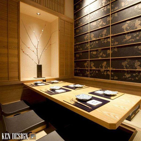 thi cong nha hang nhat chuan phong cach 4 - Thi công nhà hàng Nhật Bản chuẩn phong cách