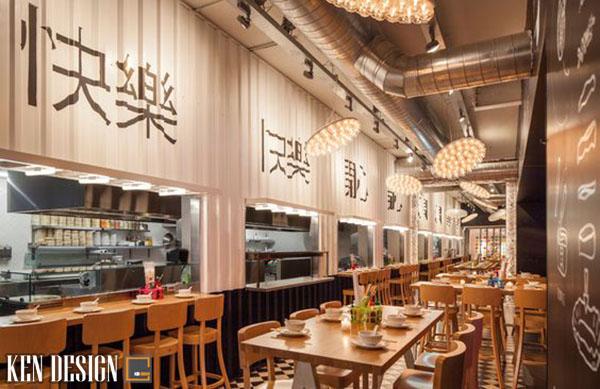thi cong nha hang nhat chuan phong cach 5 - Thi công nhà hàng Nhật Bản chuẩn phong cách