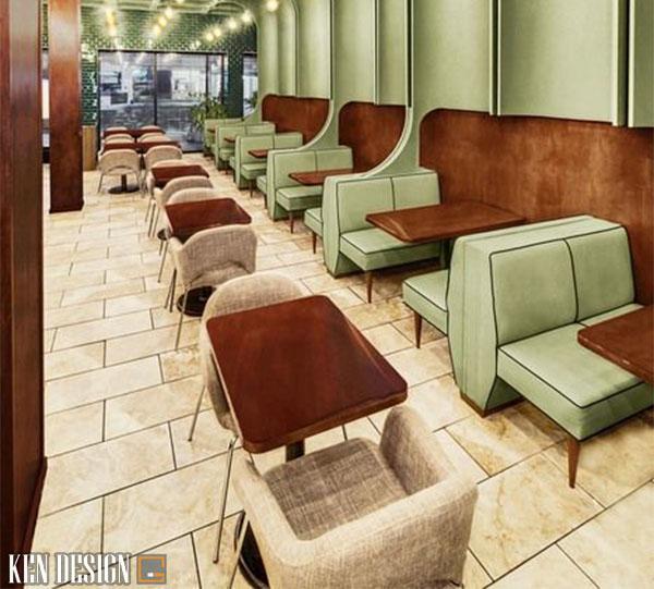 thi cong noi that nha hang hien dai 4 - Làm sao để thi công nội thất nhà hàng hiện đại hiệu quả
