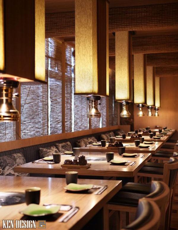 thi cong noi that nha hang nhat ban thu hut 1 - Thi công nội thất nhà hàng Nhật Bản thu hút