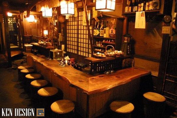 thi cong noi that nha hang nhat ban thu hut 2 - Thi công nội thất nhà hàng Nhật Bản thu hút
