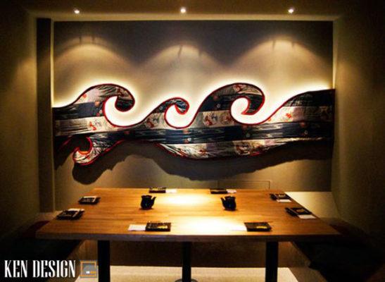thi cong noi that nha hang nhat ban thu hut 3 547x400 - Thi công nội thất nhà hàng Nhật Bản thu hút