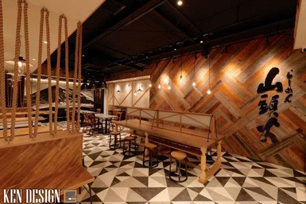 thi cong noi that nha hang nhat ban thu hut 6 1 600x400 - Thi công nội thất nhà hàng Nhật Bản thu hút
