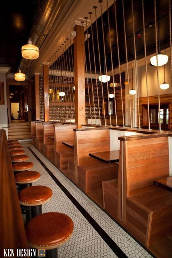 thic cong nha hang bang go 4 - Làm sao để thi công nhà hàng bằng gỗ ấn tượng