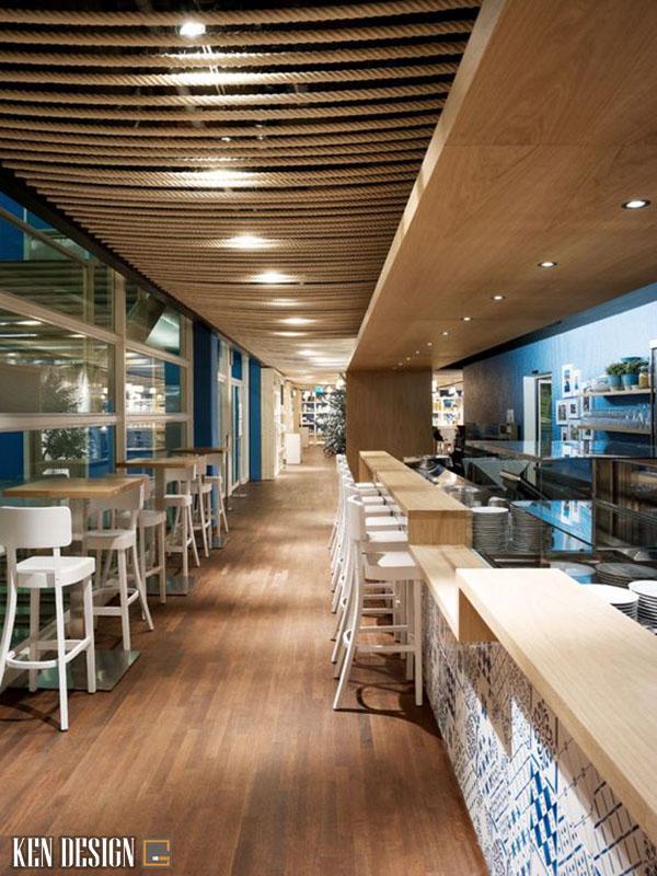thic cong nha hang bang go 5 - Làm sao để thi công nhà hàng bằng gỗ ấn tượng