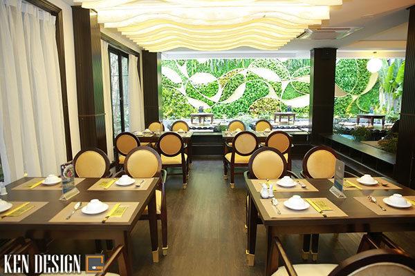 thiet ke nha hang chay su dung chatlieu go 7 600x400 - Thiết kế nhà hàng chay sử dụng chất liệu gỗ