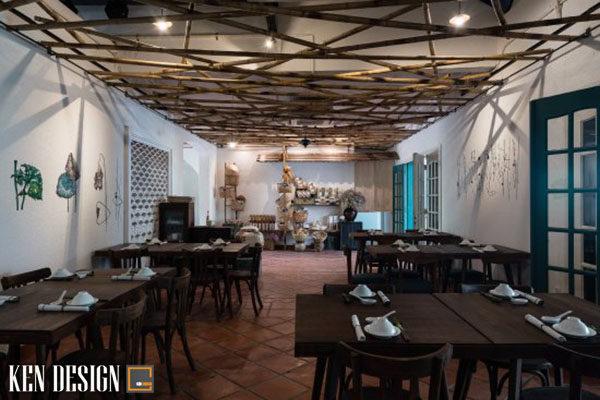 thiet ke nha hang chay voi thiet ke an tuong 4 600x400 - Thiết kế nhà hàng ăn chay với đồ trang trí ấn tượng
