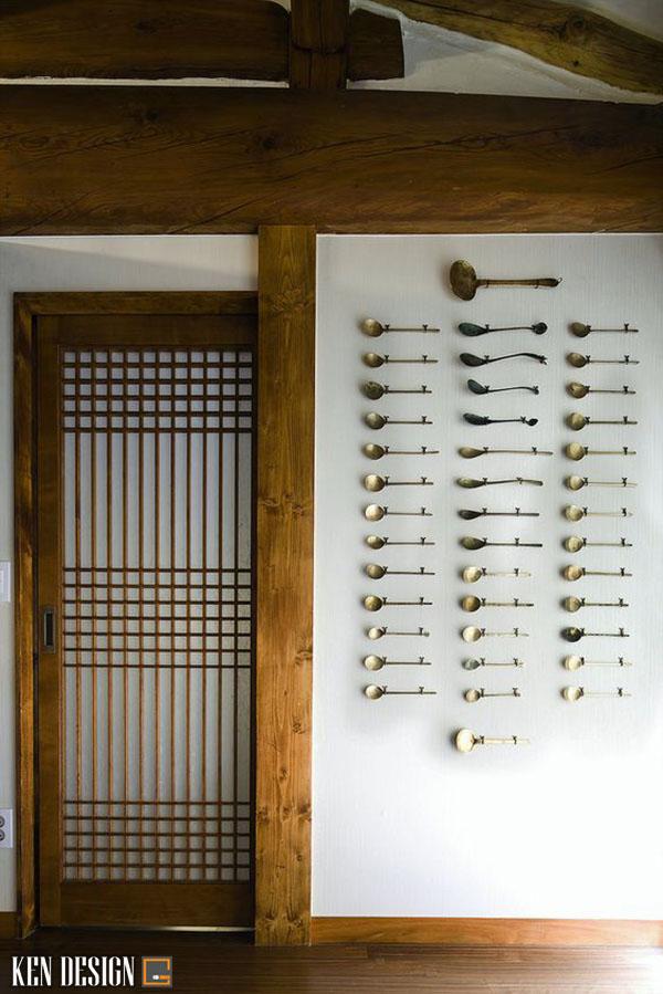 thiet ke nha hang han quoc 2 - Thiết kế nhà hàng Hàn Quốc với trang trí ấn tượng