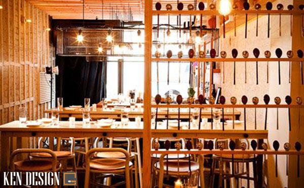 thiet ke nha hang han quoc 4 - Thiết kế nhà hàng Hàn Quốc với trang trí ấn tượng