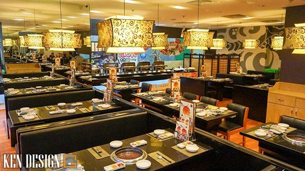 thiet ke nha hang lau nuong toi uu 2 - Cách thiết kế nhà hàng lẩu nướng tối ưu