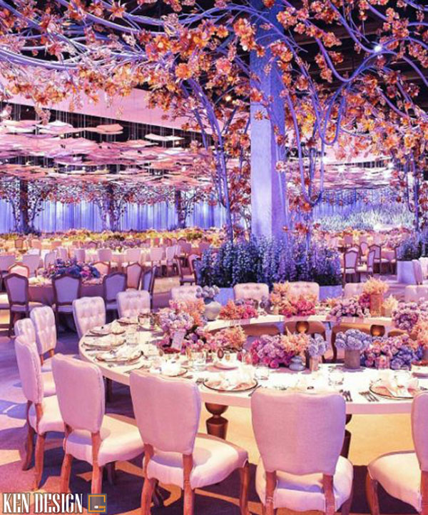 thiet ke nha hang tiec cuoi theo so thich 5 - Thiết kế nhà hàng tiệc cưới theo sở thích khách hàng