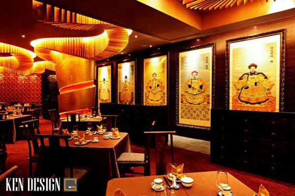 thiet ke nha hang trung hoa co dien 1 - Thiết kế nhà hàng Trung Hoa phong cách cổ điển