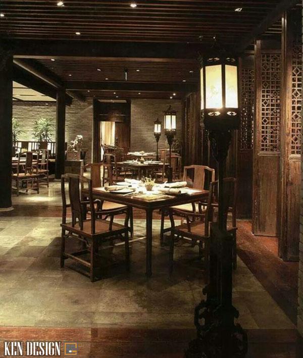 thiet ke nha hang trung hoa co dien 4 - Thiết kế nhà hàng Trung Hoa phong cách cổ điển