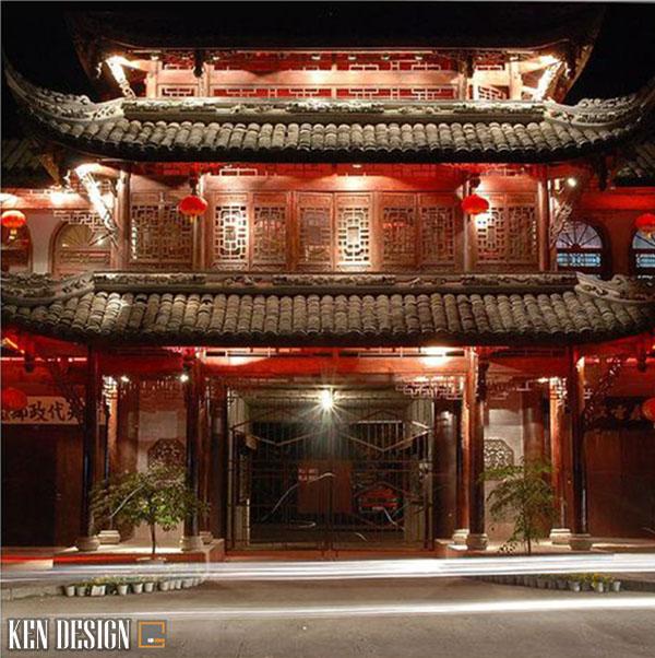 thiet ke nha hang trung hoa co dien 5 - Thiết kế nhà hàng Trung Hoa phong cách cổ điển