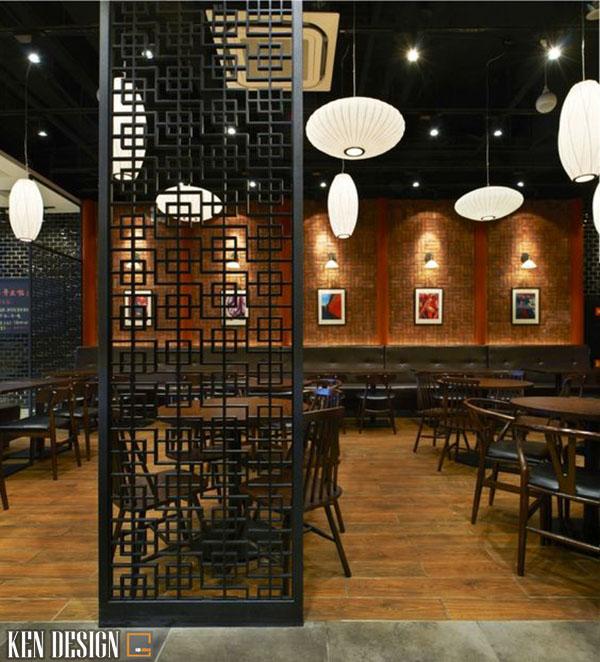 thiet ke nha hang trung hoa co dien 6 - Thiết kế nhà hàng Trung Hoa phong cách cổ điển