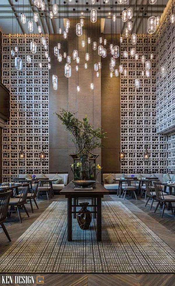 thiet ke nha hang trung hoa hop phong thuy 2 - Thiết kế nhà hàng Trung Hoa hợp phong thủy