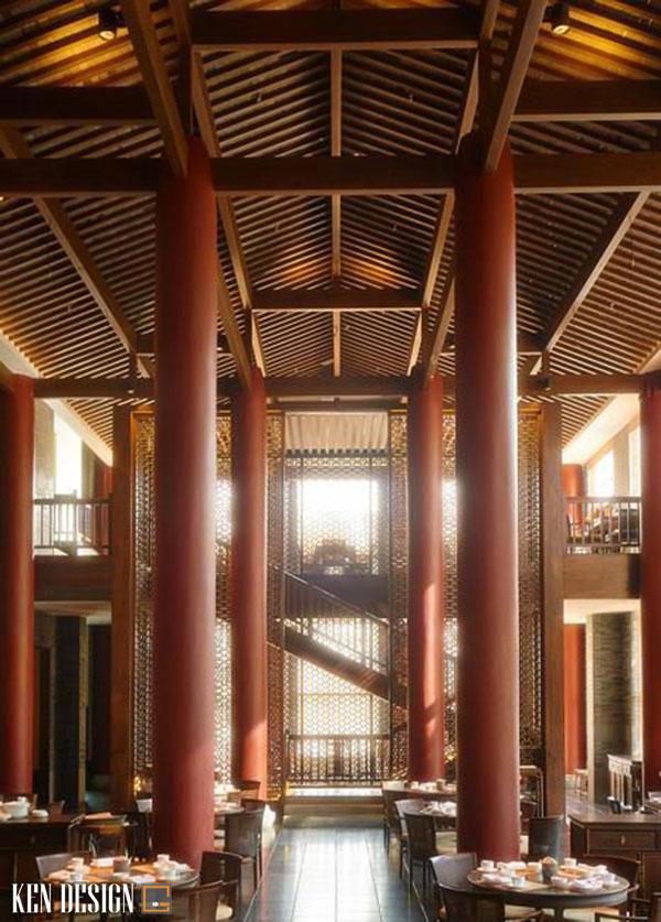 thiet ke nha hang trung hoa hop phong thuy 3 - Thiết kế nhà hàng Trung Hoa hợp phong thủy