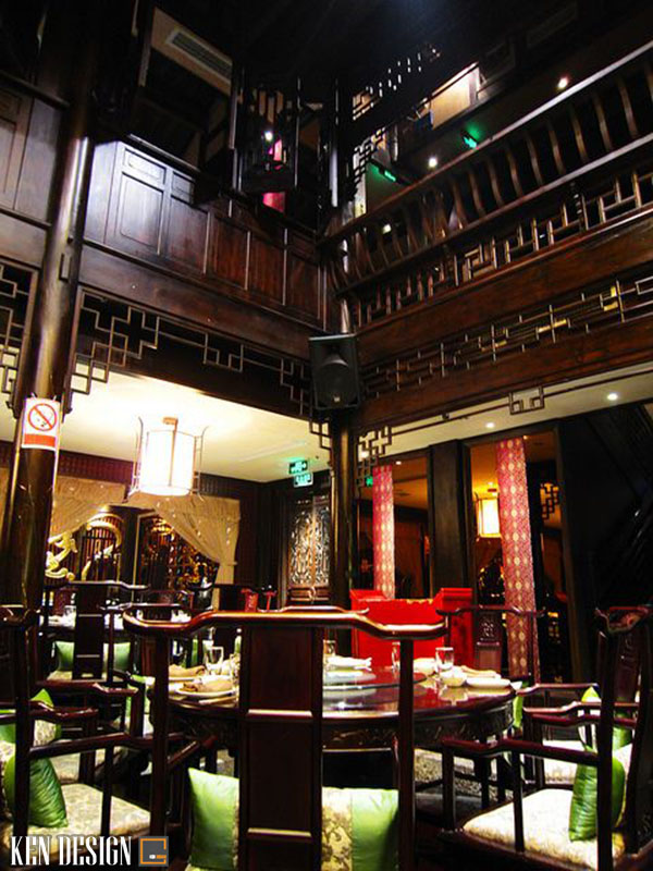 thiet ke nha hang trung hoa hop phong thuy 5 - Thiết kế nhà hàng Trung Hoa hợp phong thủy