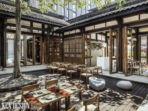 thiet ke nha hang trung hoa hop phong thuy 6 - Thiết kế nhà hàng Trung Hoa hợp phong thủy