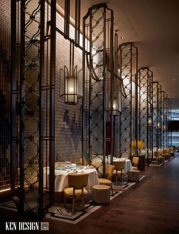 thiet ke nha hang trung hoa tiet kiem chi phi 1 - Thiết kế nhà hàng Trung Hoa tiết kiệm chi phí