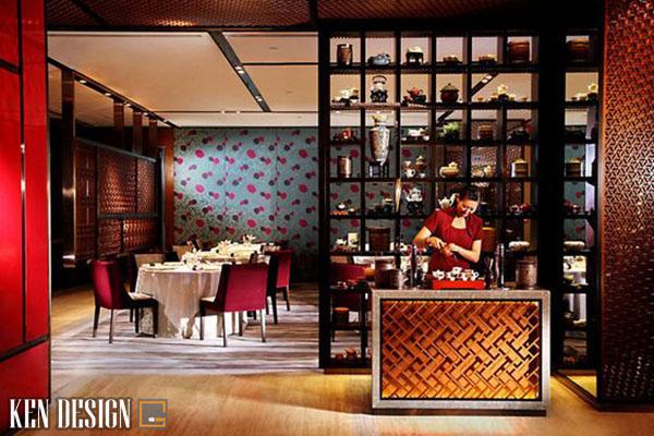 thiet ke nha hang trung hoa tiet kiem chi phi 5 - Thiết kế nhà hàng Trung Hoa tiết kiệm chi phí