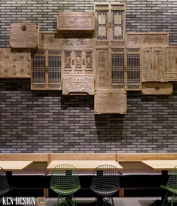 thiet ke nha hang trung hoa tiet kiem chi phi 6 - Thiết kế nhà hàng Trung Hoa tiết kiệm chi phí