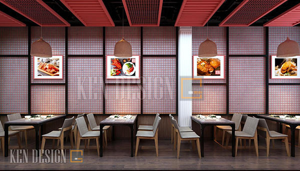 thiet ke nha hang vit quay to thi 4 1 - Thiết kế nhà hàng Vịt quay Tô thị