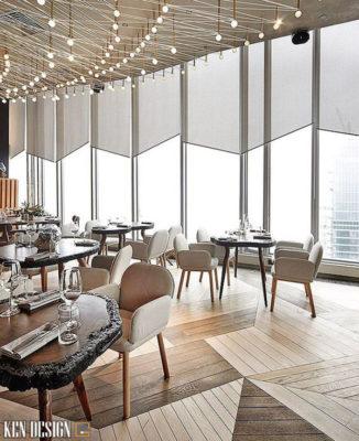 thiet ke thi cong nha hang do thi 1 326x400 - Thiết kế thi công nhà hàng ở đô thị thu hút