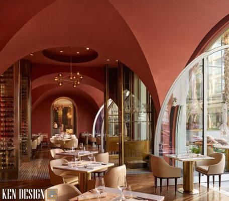 thiet ke thi cong nha hang khach san 6 456x400 - Thiết kế thi công nhà hàng khách sạn