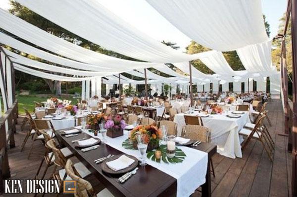 tieu chuan thiet ke nha hang tiec cuoi ngoai troi 2 - Thiết kế nhà hàng tiệc cưới ngoài trời tiêu chuẩn như thế nào
