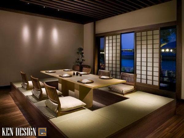 tu van thiet ke noi that nha hang nhat ban truyen thong 1 - Tư vấn thiết kế nội thất nhà hàng Nhật Bản truyền thống